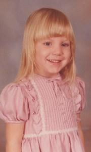 Becky at Around Three Years of Age